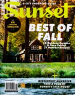 Sunset Magazine - Fall 2018
