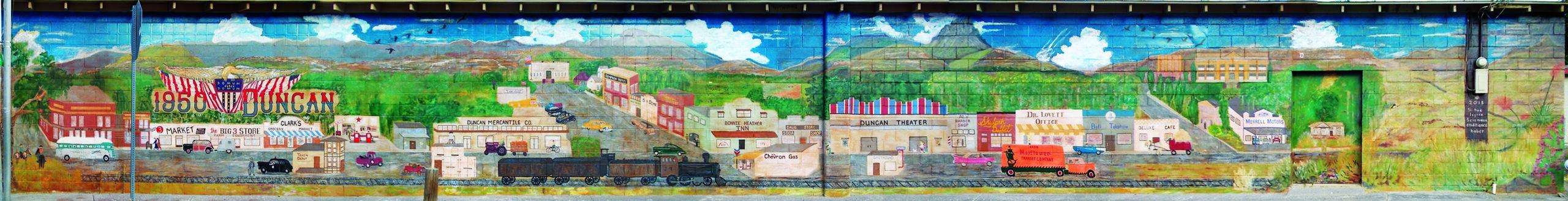Hill Street Mural